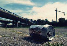 coca cola tin can