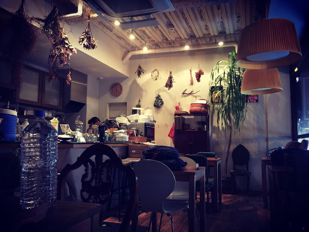 Interior of ATL cafe