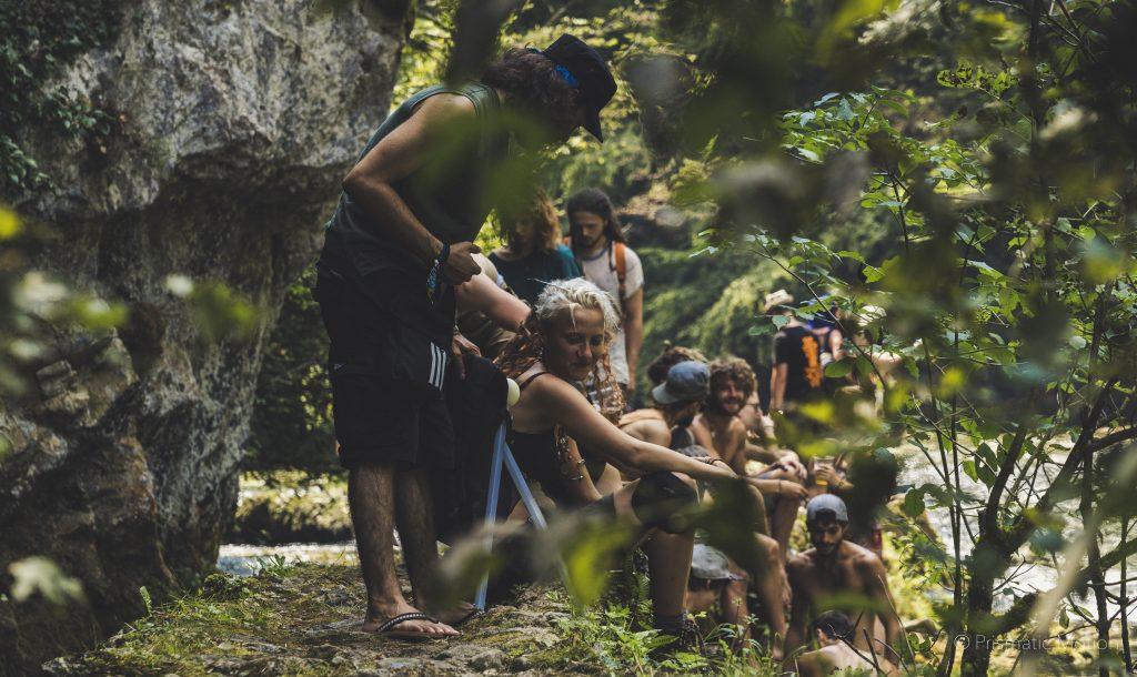 Tribal affair at Modem fesival