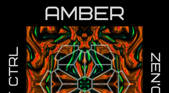 Track art for the track Amber by Zen'Oul on the label WF420 ALT CTRL